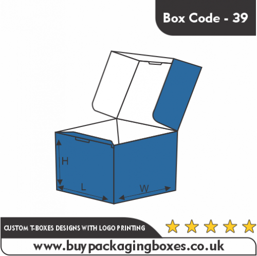 CUSTOM T-BOXES DESIGNS WITH LOGO PRINTING