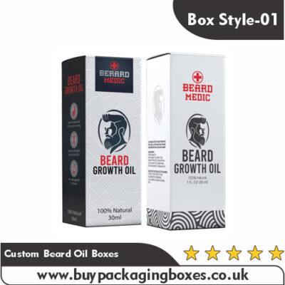 Custom Beard Oil Boxes