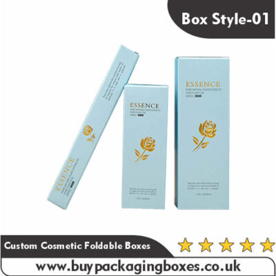 Custom Cosmetic Foldable Boxes