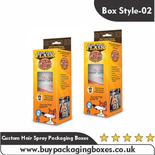 Custom Hair Spray Boxes