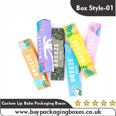 Custom Lip Balm Packaging Boxes