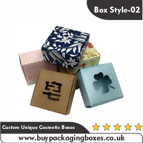 Custom Unique Cosmetic Boxes
