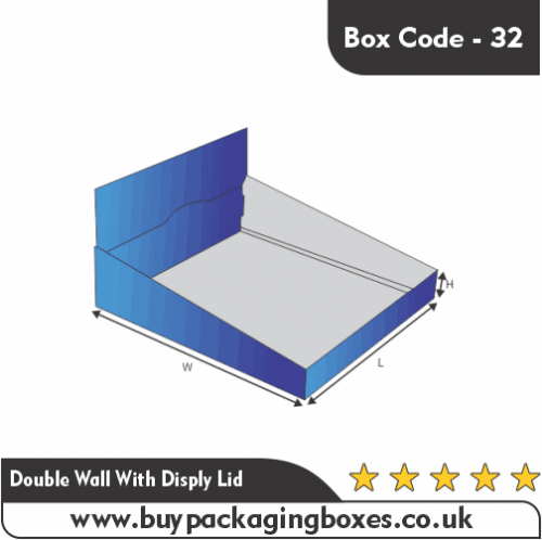 DOUBLE WALL WITH DISPLAY LID