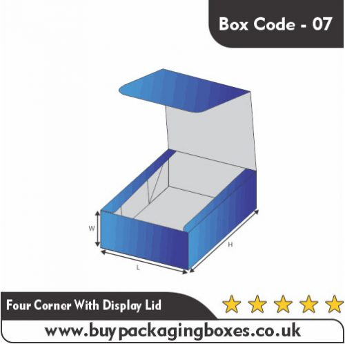 FOUR CORNERS WITH DISPLAY LID BOXES