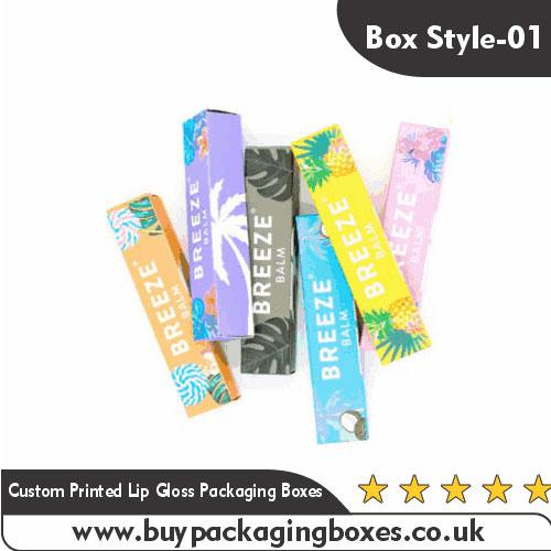 Custom Lip Gloss Boxes