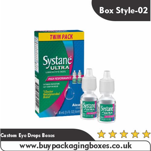 Custom Eye Drops Boxes