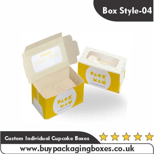 Custom Individual Cupcake Boxes