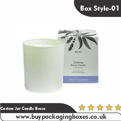 Custom Jar Candle Boxes