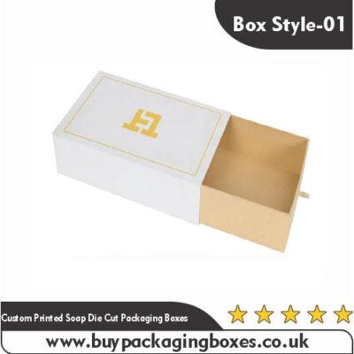 Custom Die Cut Soap Boxes