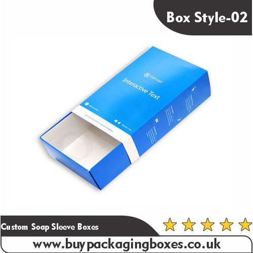 Custom Soap Sleeve Boxes