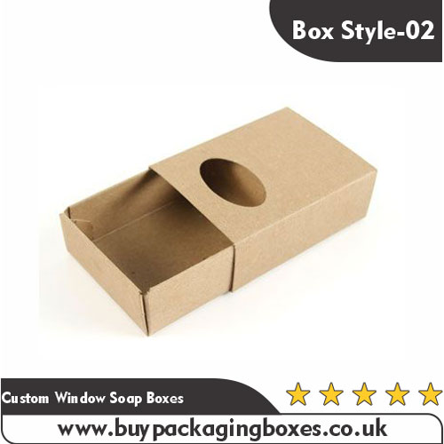 Custom Window Soap Boxes