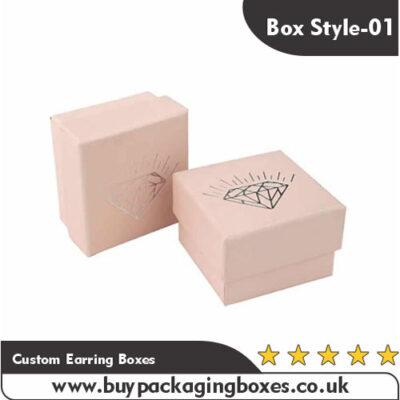 Custom Earring Boxes