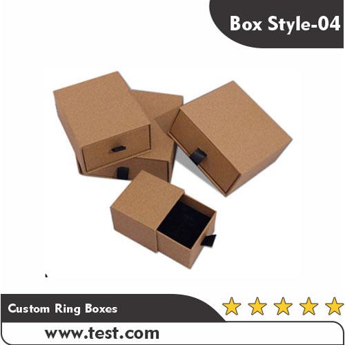Custom Ring Boxes