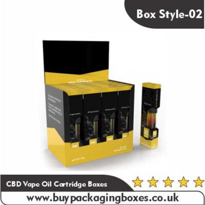 CBD Vape Oil Cartridge Boxes