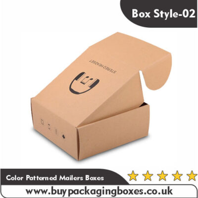 Color Patterned Mailers Boxes