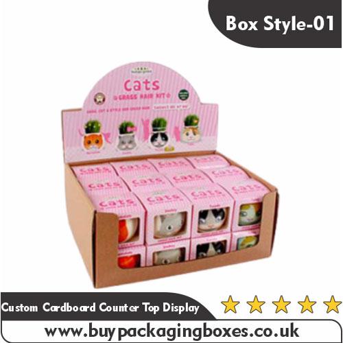 Custom Cardboard Counter Top Display