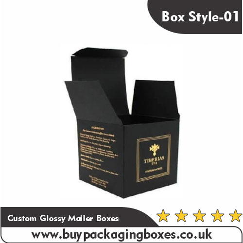 Custom Gold Foil Boxes