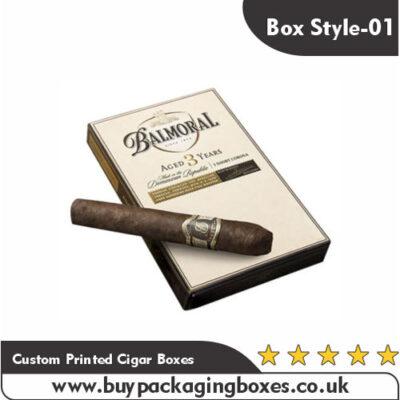 Printed Custom Cigar Boxes