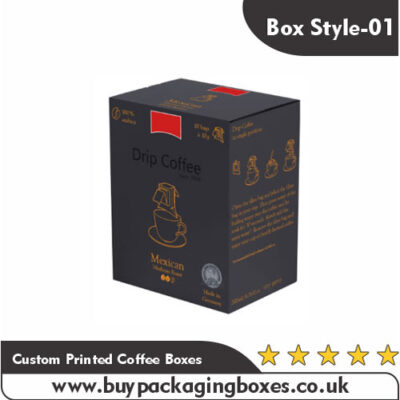 Custom Printed Coffee Boxes