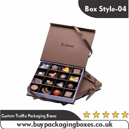 Custom Truffle Packaging Boxes