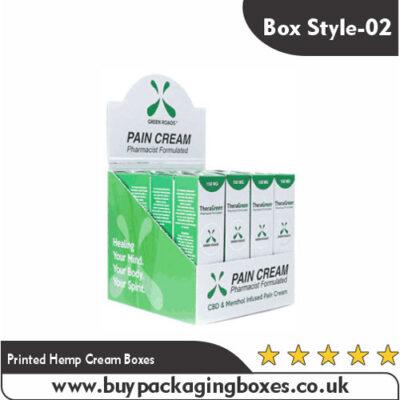 Printed Hemp Cream Boxes (2)