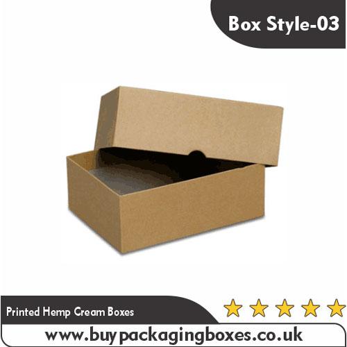 Printed Hemp Cream Boxes (3)