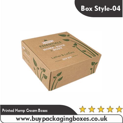Printed Hemp Cream Boxes (4)
