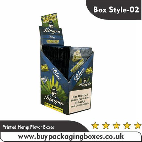 Printed Hemp Flavor Boxes
