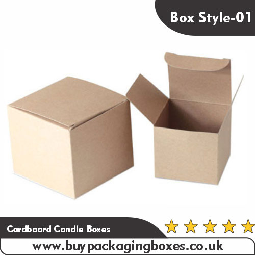Cardboard Candle Boxes