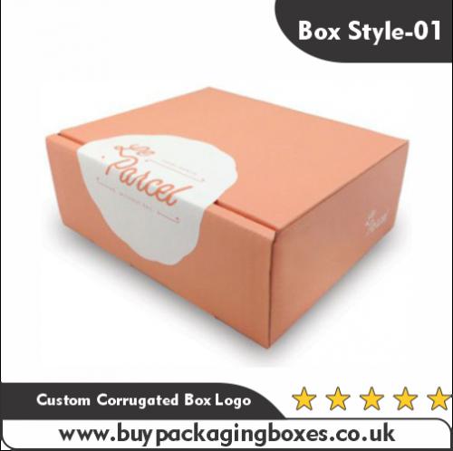 Custom Corrugated Boxes With Logo