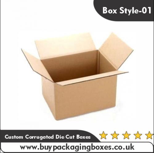 Custom Corrugated Die Cut Boxes