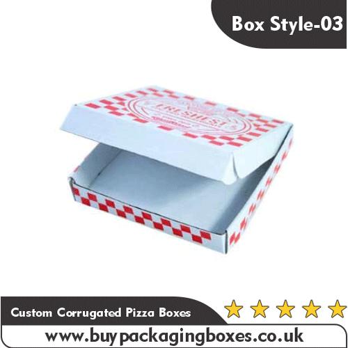 Custom Corrugated Pizza Boxes