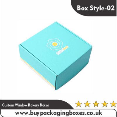 Custom Window Bakery Boxes
