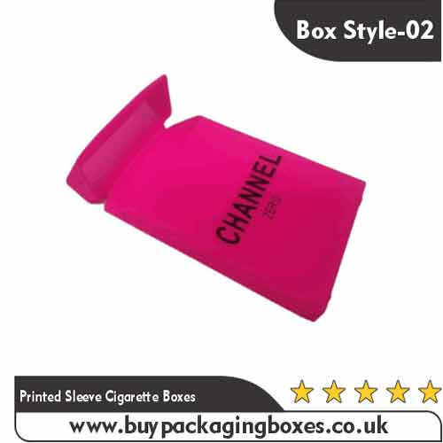 Printed Sleeve Cigarette Boxes