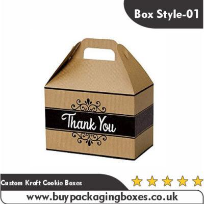Custom Kraft Cookie Boxes