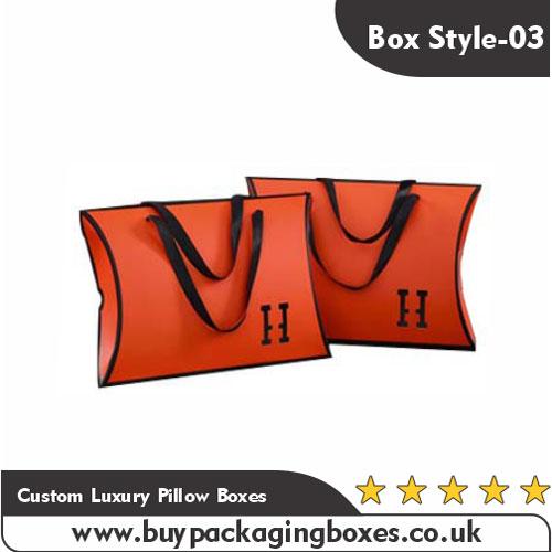 Custom Luxury Pillow Boxes