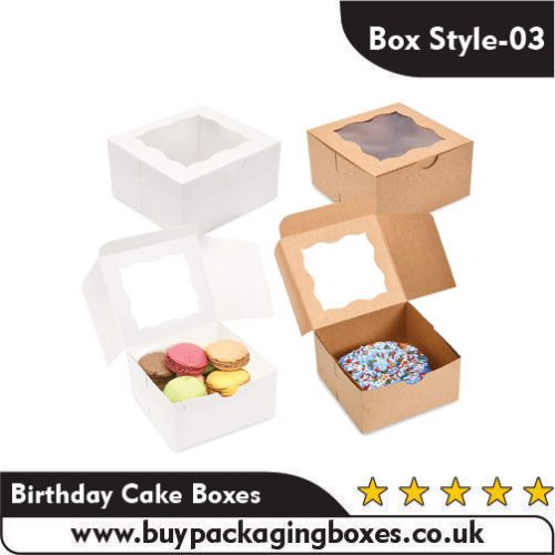 Birthday Cake Packaging Boxes
