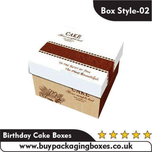 Custom Birthday Cake Boxes