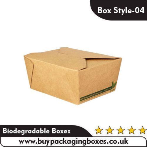 Printed Biodegradable Boxes