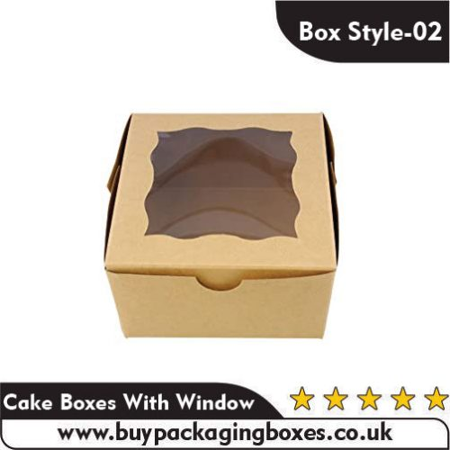 Cake Boxes With Window